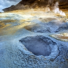 Geothermal area at Namaskard_north Iceland
