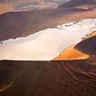 Dead Vlei from a arial sight